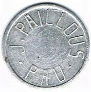 10 centimes - J.Paillous - Pau (64) – avers