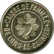 50 Centimes - Caisse de Famille - Lons-le-Saulnier [39] – avers