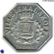 5 centimes - Ville de Malakoff - Malakoff  [92] – avers
