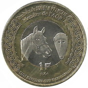 1 Franc (Soudan Francais) – avers