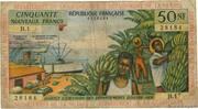 50 nouveaux francs – avers