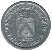 10 Centimes Union Commerciale et Industrielle de Frévent et environs [62] – avers