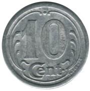 10 Centimes Union Commerciale et Industrielle de Frévent et environs [62] – revers