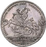 1 thaler Franz Heinrich – revers