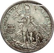 ½ Thaler - Franz Heinrich von Dalberg – revers