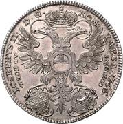 1 thaler Franz Heinrich – avers