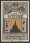 50 Pfennig (Friedland) – avers