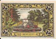 25 Pfennig (Friesack) – revers