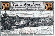 50 Pfennig (Fürstenberg in Mecklenburg) – revers