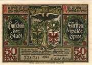 50 Pfennig (Fürstenwalde an der Spree) – avers