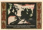 50 Pfennig (Fürstenwalde an der Spree) – revers