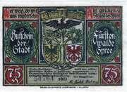 750 Pfennig (Fürstenwalde an der Spree) – avers