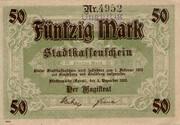 50 Mark (Fürstenwalde) [Spree] – avers