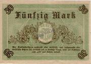 50 Mark (Fürstenwalde) [Spree] – revers