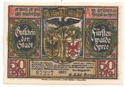 50 Pfennig (Furstenwalde/Spree) – avers