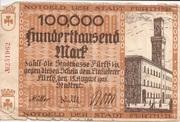 100,000 Mark – avers