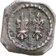 1 pfennig Maximilian II – avers