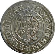 2 Kreuzer - Maximilian II – avers