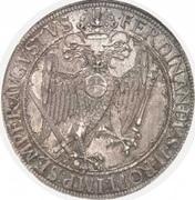 1 thaler Maximillien II – revers