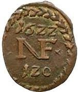 1/60 Gulden - Nikolaus (Kipperkreuzer) – revers