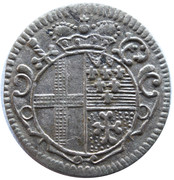 4 pfennig Adolph – avers