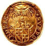 ⅛ thaler Bernhard Gustav of Baden-Durlach – avers