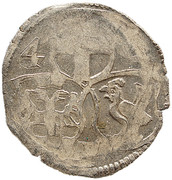 1 pfennig Johann III de Henneberg – avers