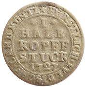 ½ Kopfstück - Adolph of Dalberg – revers