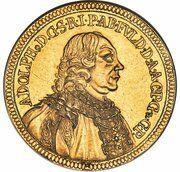 8 ducat Adolph de Dalberg – avers