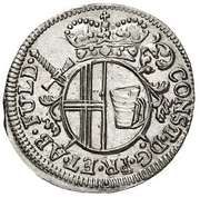 4 Pfennig - Konstantin von Buttlar – avers