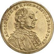 1 Ducat - Adolph von Dalberg – avers