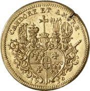 1 Ducat - Adolph von Dalberg – revers