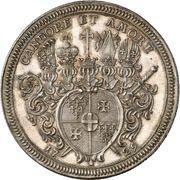1 Thaler - Adolph von Dalberg – revers