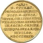 1 Ducat - Heinrich VIII. von Bibra (Anniversary) – revers