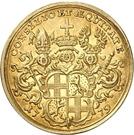 1 Ducat - Heinrich VIII. von Bibra – revers