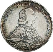 1 Thaler - Heinrich VIII. von Bibra – avers