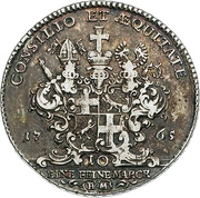 1 Thaler - Heinrich VIII. von Bibra – revers