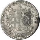 ½ Thaler - Heinrich VIII. von Bibra (Konventionshalbtaler) – revers