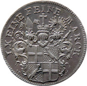 20 Kreuzer (Mort d'Heinrich VIII) – avers