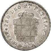 ½ Thaler - Adalbert III. von Harstall (Kontributionshalbtaler) – revers