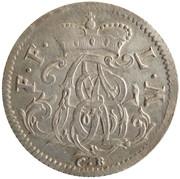 ⅙ thaler Adalbert II de Walderdorff – avers