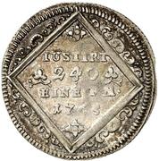 5 Kreuzer - Heinrich VIII. von Bibra – revers