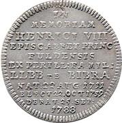 10 Kreuzer - Adalbert III – revers