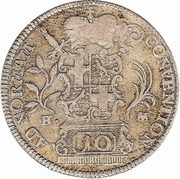 10 Kreuzer - Heinrich VIII – revers