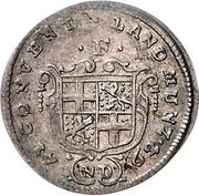1 Groschen - Heinrich VIII von Bibra – avers
