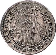 1 Groschen - Heinrich VIII von Bibra – revers