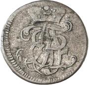 6 Pfennig - Adalbert II. von Walderdorf – avers