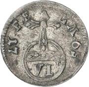 6 Pfennig - Adalbert II. von Walderdorf – revers