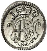 1 Kreuzer - Heinrich VIII – avers