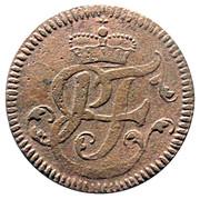1 Pfenning - Heinrich VIII von Bibra – avers